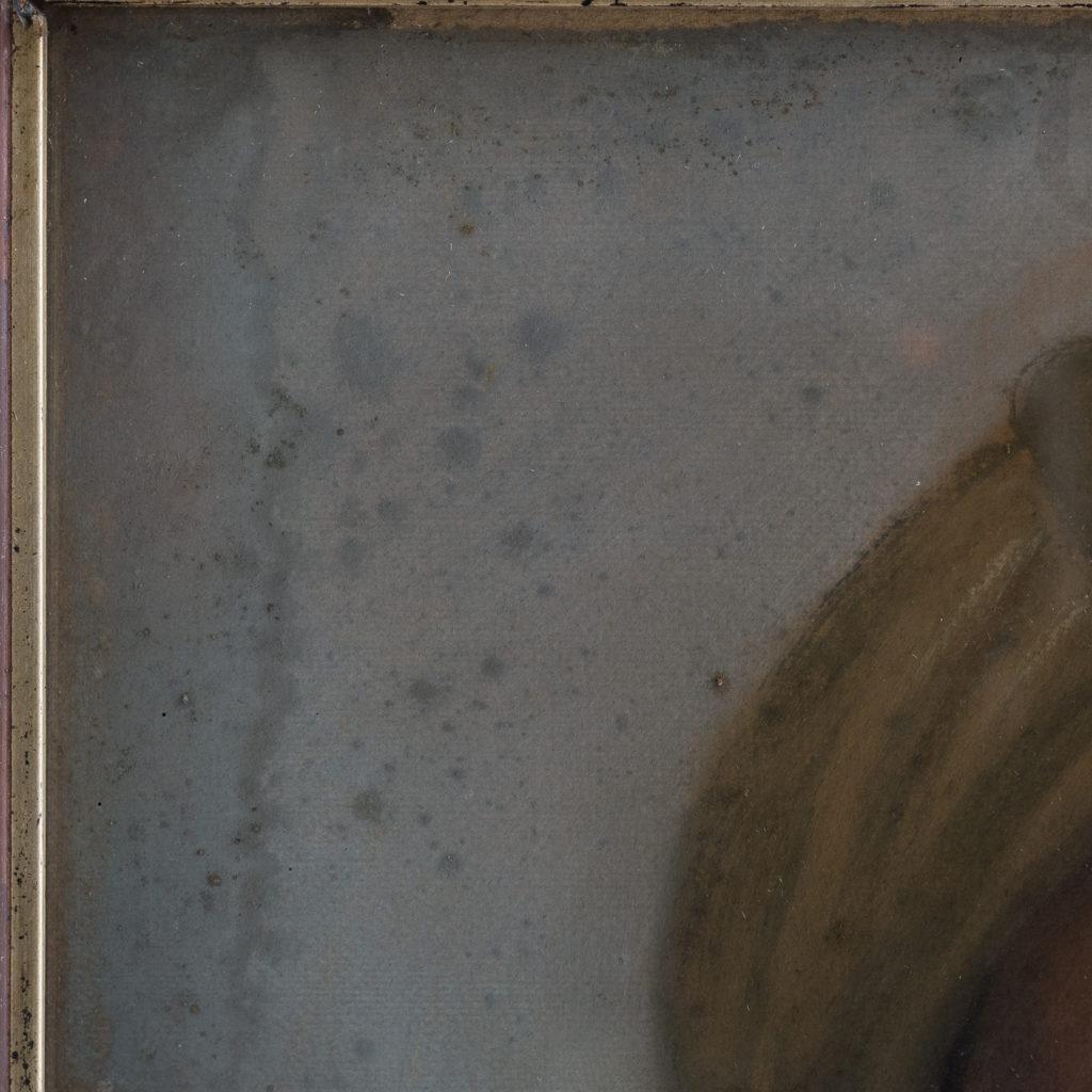 Portrait of a gentleman wearing a turban-122529