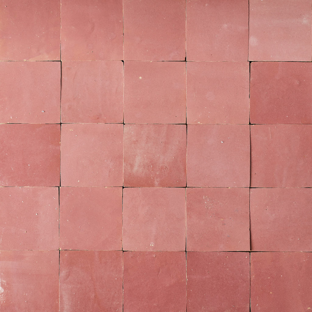 Hand cut Moroccan glazed tile,-0