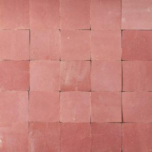 Hand cut Moroccan glazed tile,-0