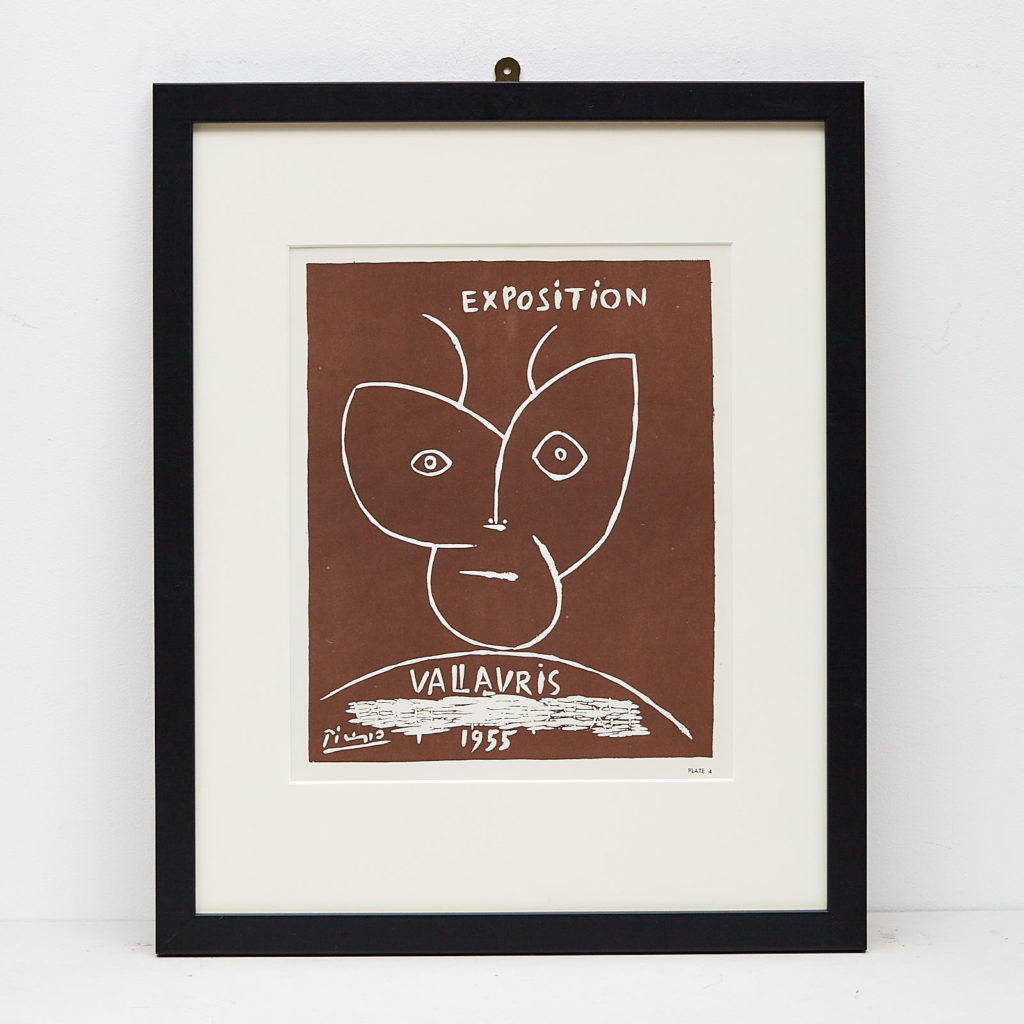 'Verve' by Pablo Picasso; lithograph printed by Mourlot,-0