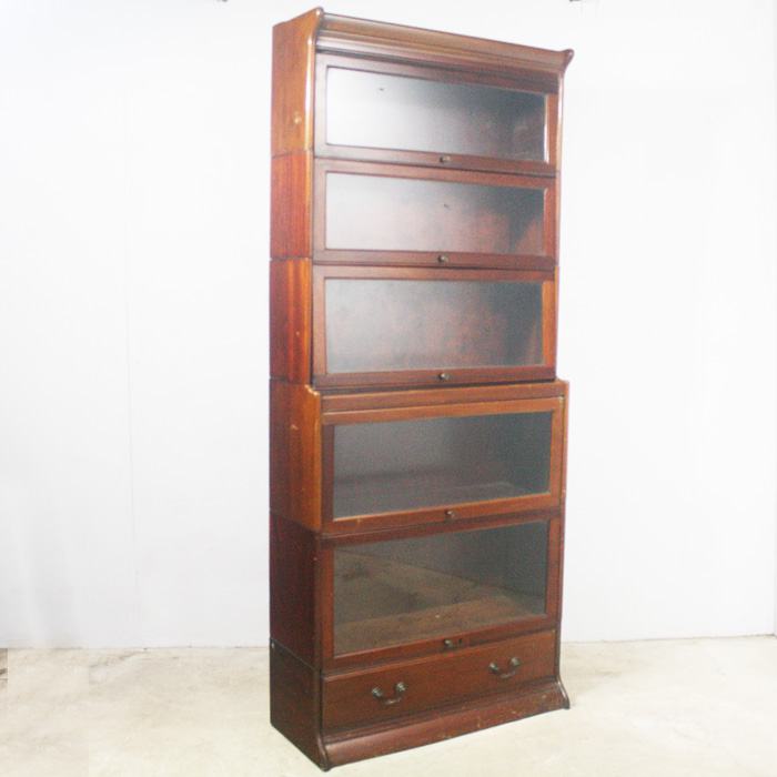 Sectional bookcase by Gunn