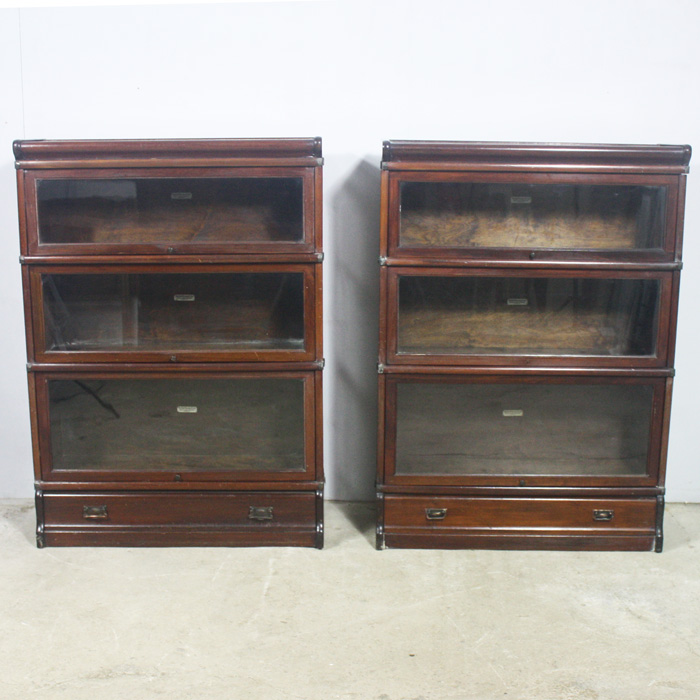 Globe Wernicke bookcases