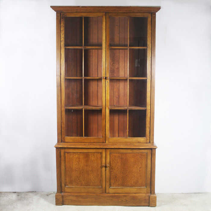 glazed bookcase