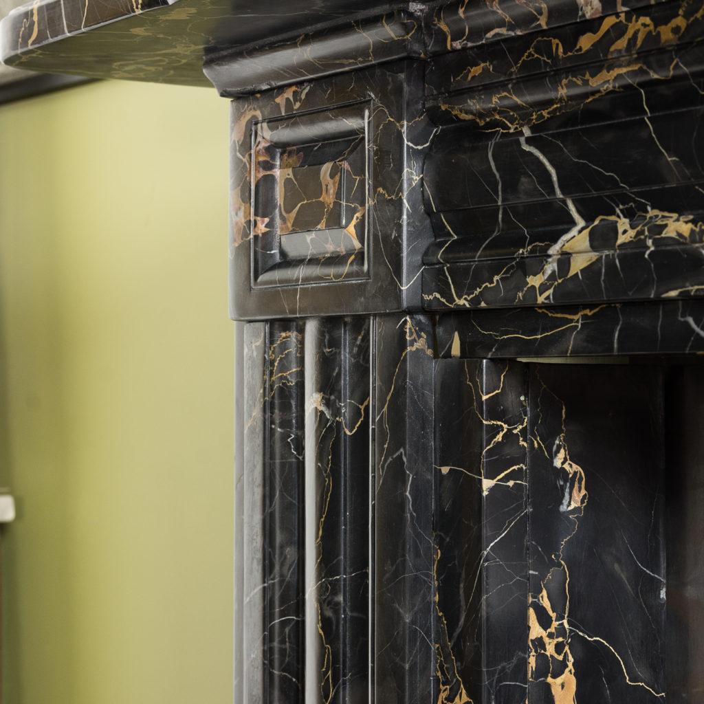 William IV Portoro chimneypiece,-123680