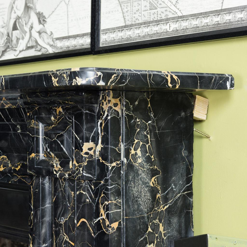 William IV Portoro chimneypiece,-123678