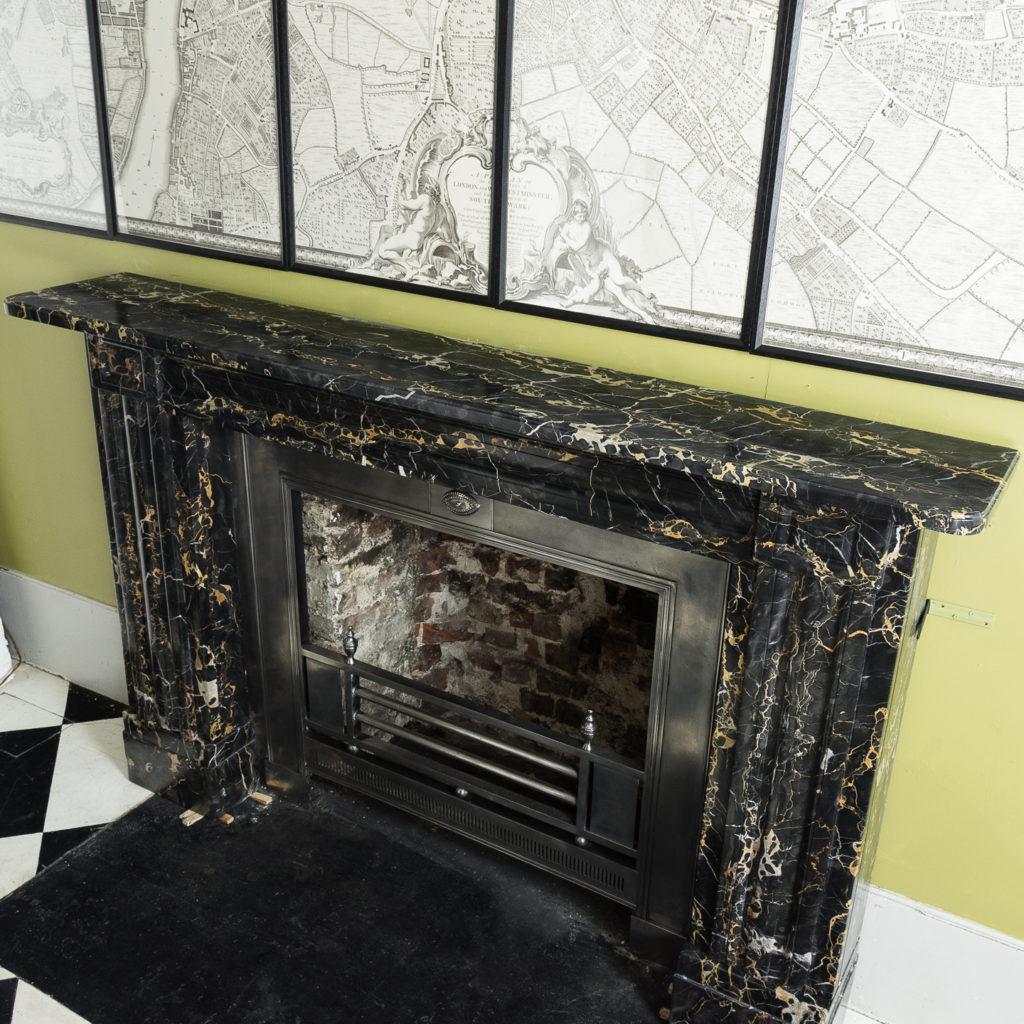 William IV Portoro chimneypiece,-123676