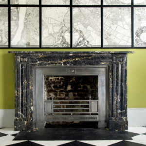 William IV Portoro chimneypiece