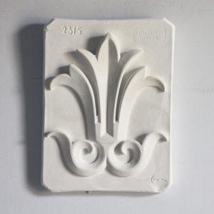 plaster plaque,