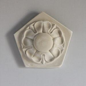 pentangular plaque