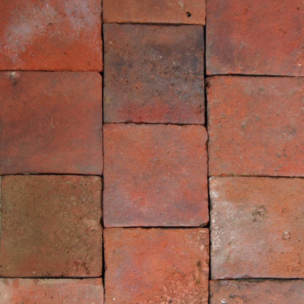 A quantity of French terracotta floor tiles-0