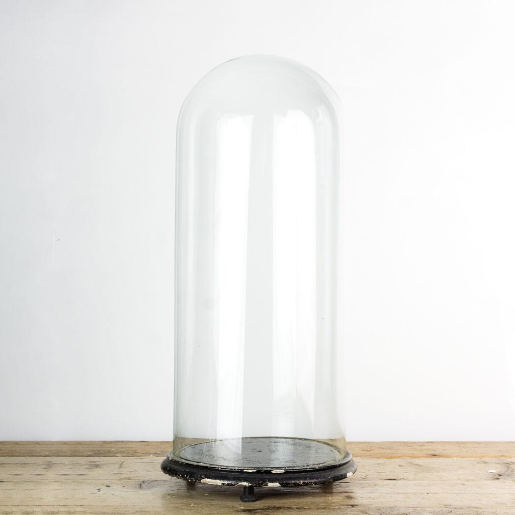 Glass display dome