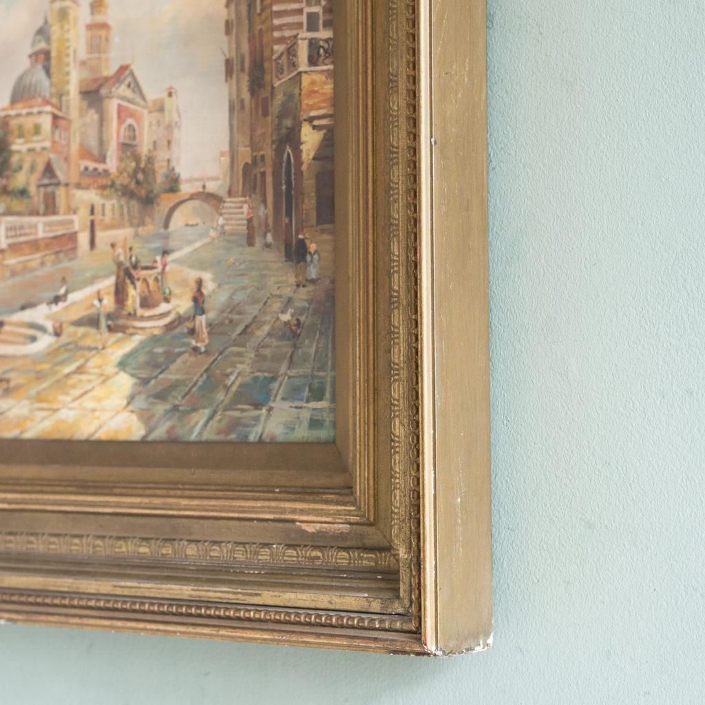 Venetian capriccio, oil on board,-124216