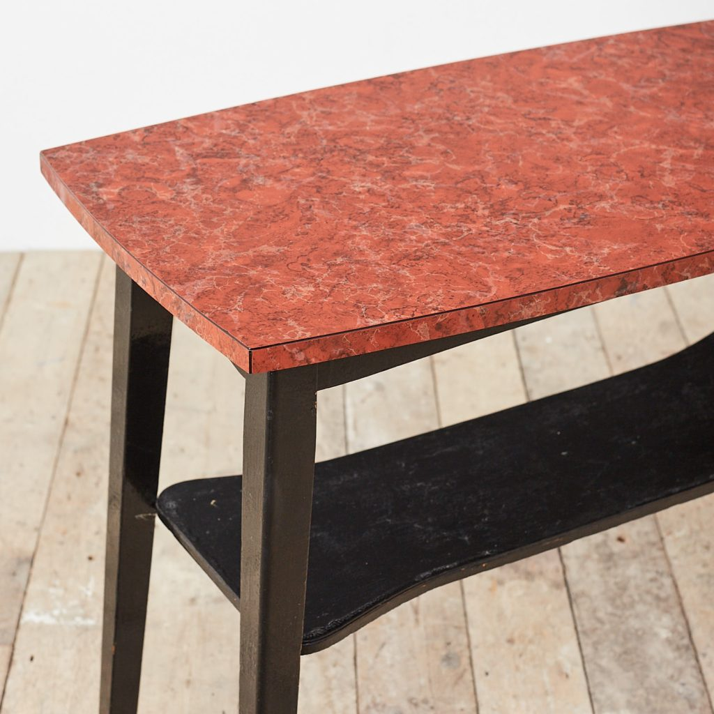 Faux marble Formica table,-125007