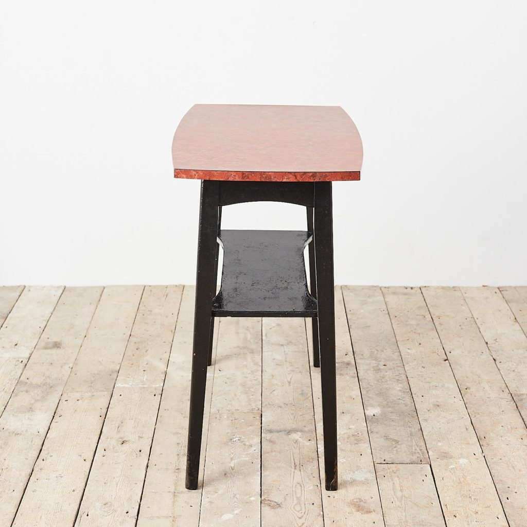 Faux marble Formica table,-125009