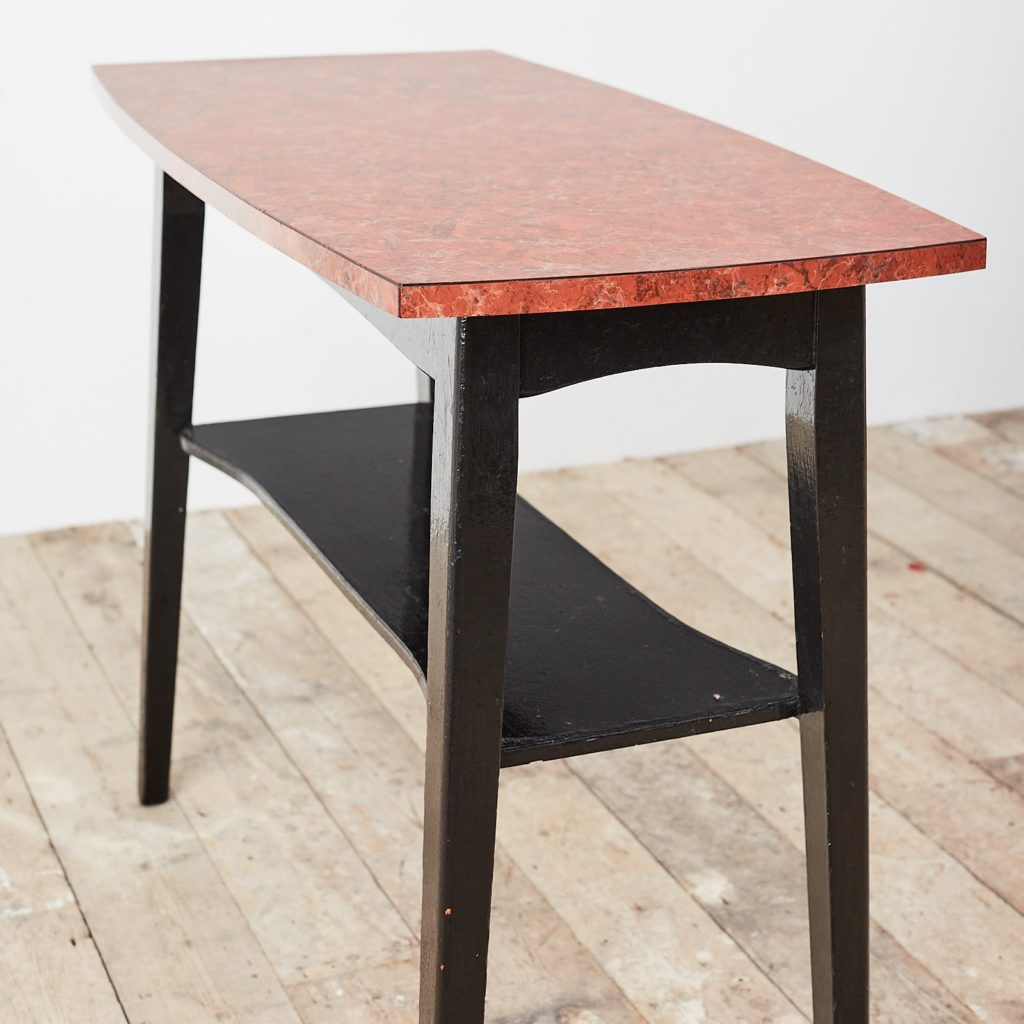 Faux marble Formica table,-125010