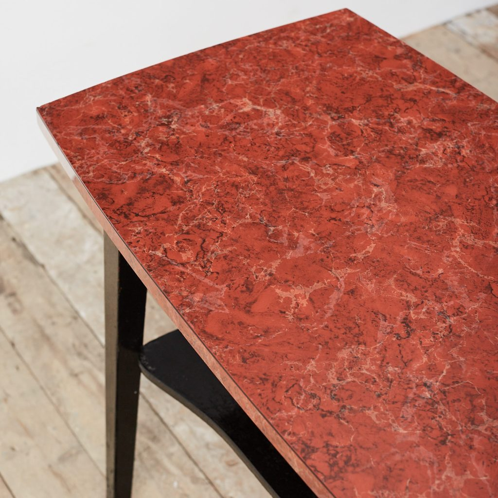 Faux marble Formica table,-125011