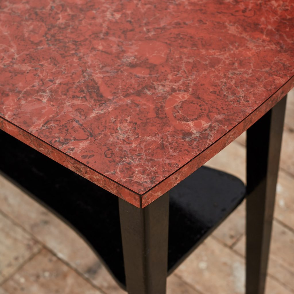 Faux marble Formica table,-125012