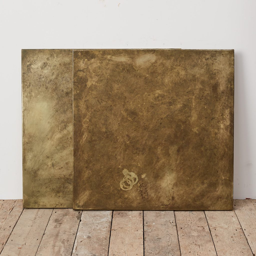 Brass table top,-124890