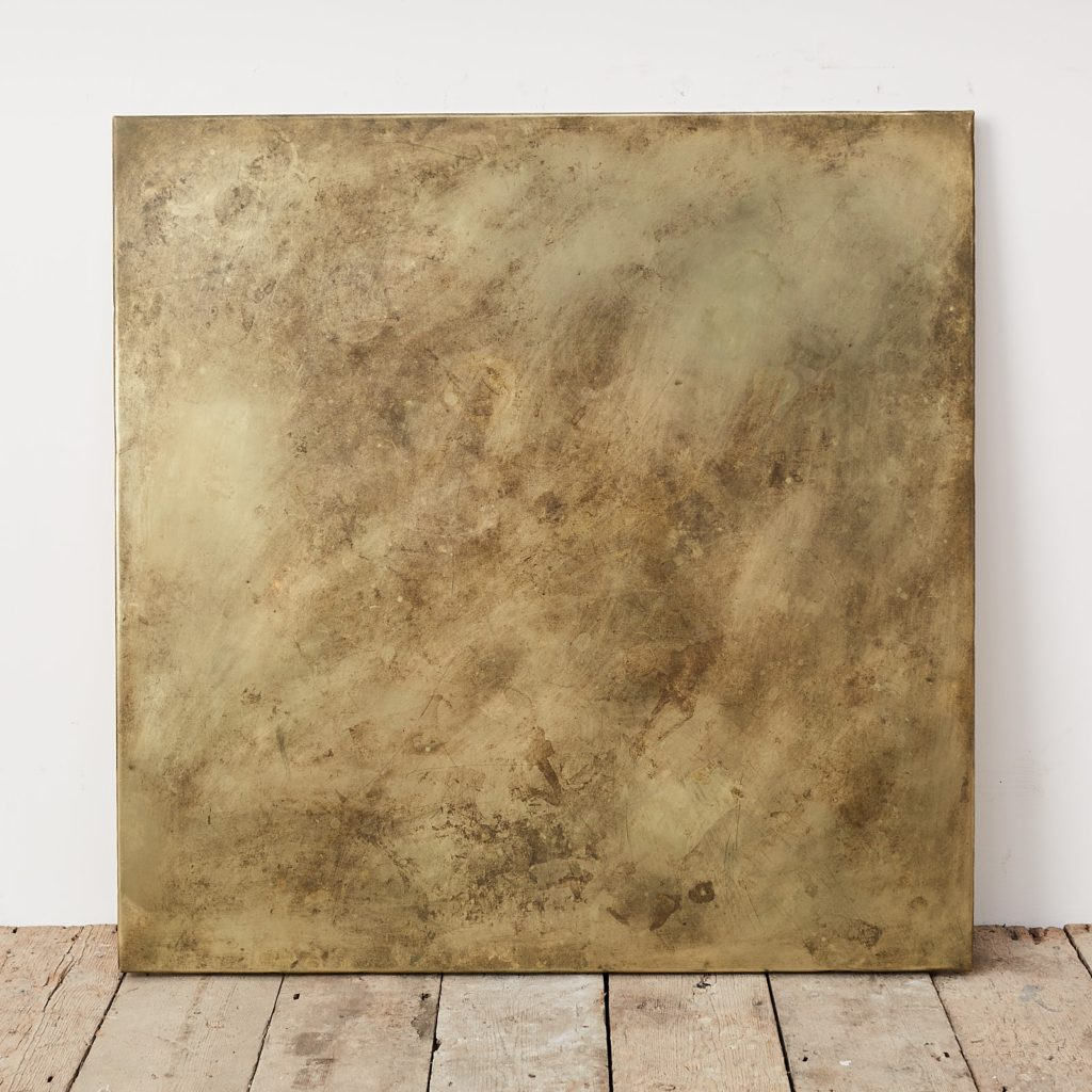 Brass table top,-124893