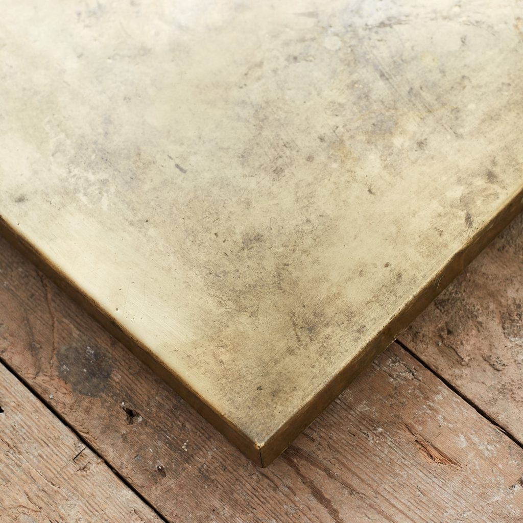 Brass table top,-124895