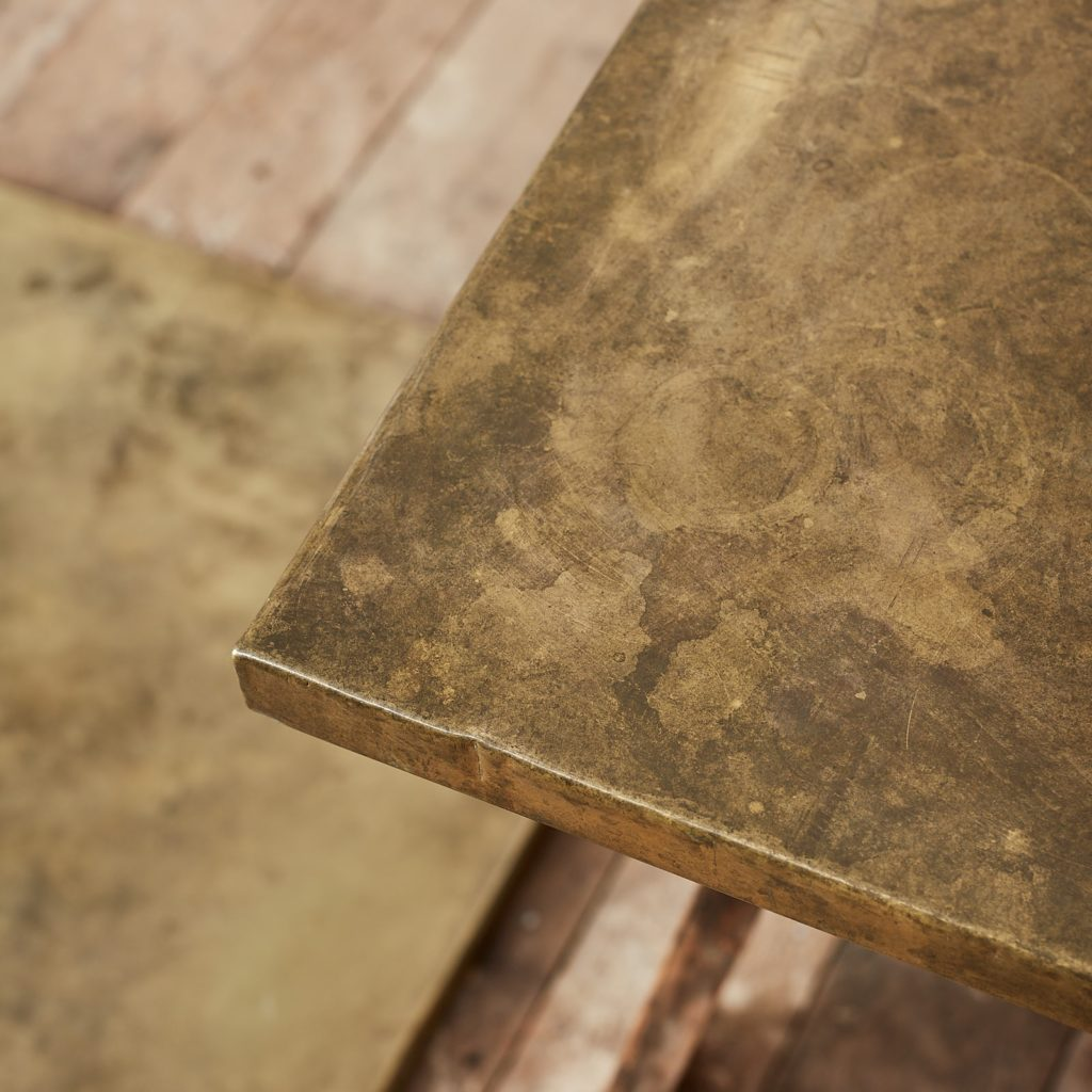 Brass table top,-124897