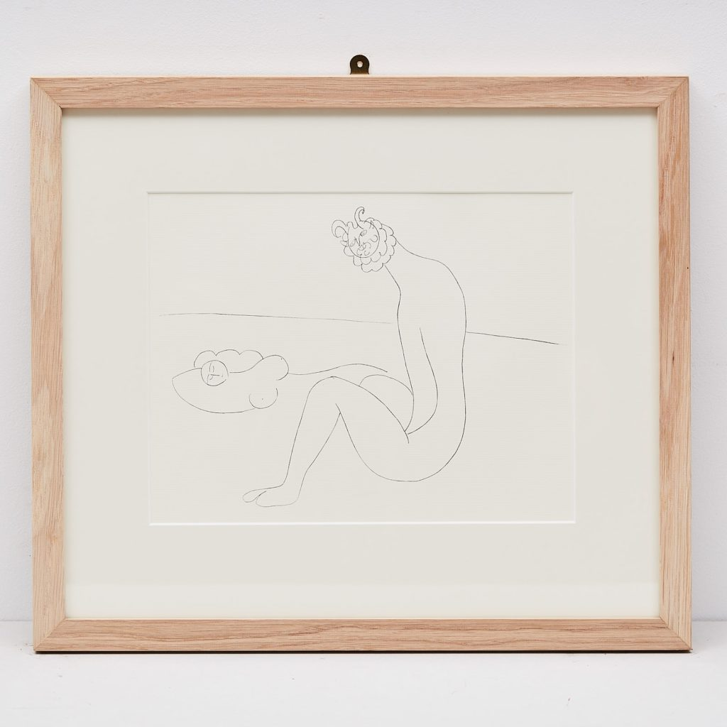Picasso 'Mes dessins d'Antibes' Lithograph,-0