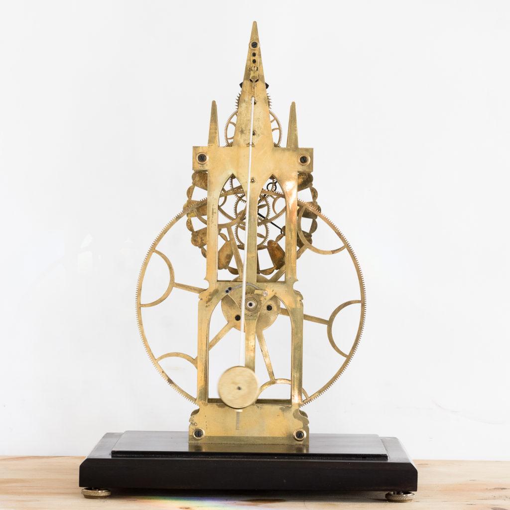 Fusee skeleton clock