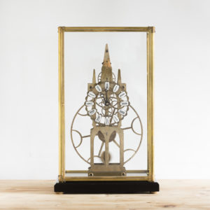 Fusee skeleton clock