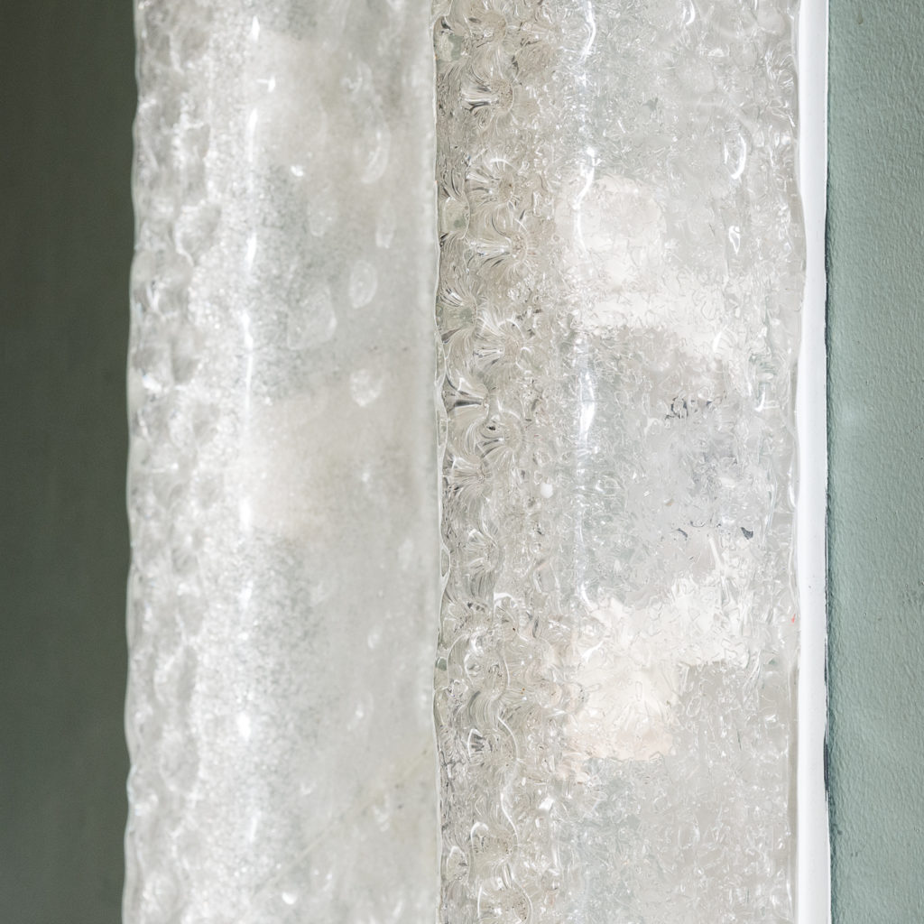 Pair of Hansel Ice glass wall lights,-124659