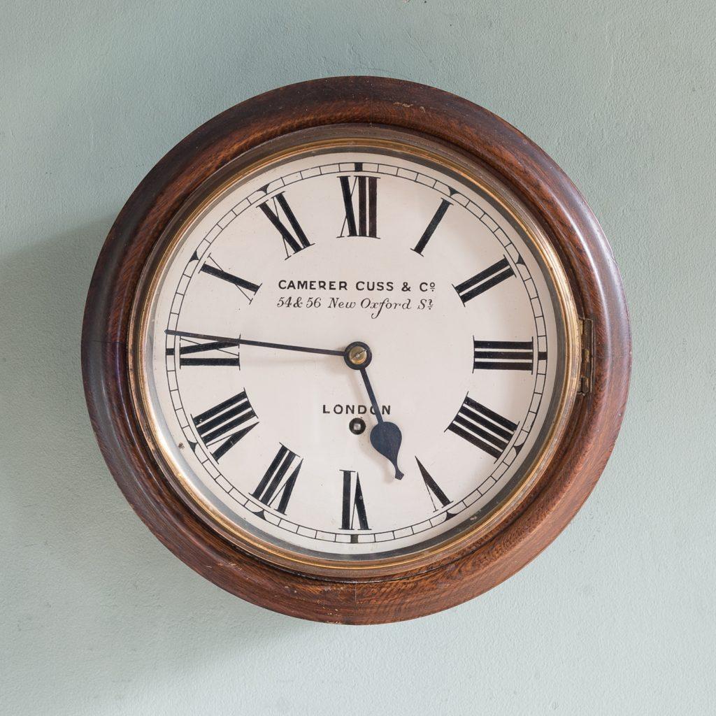 Camerer Cuss & Co dial clock