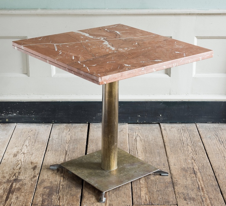 alicante red marble table