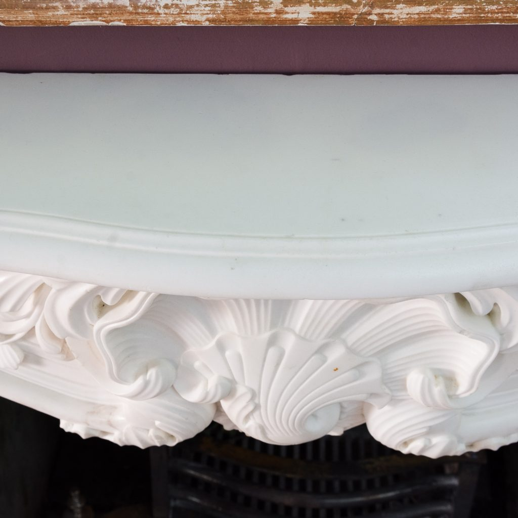 shaped and moulded shelf