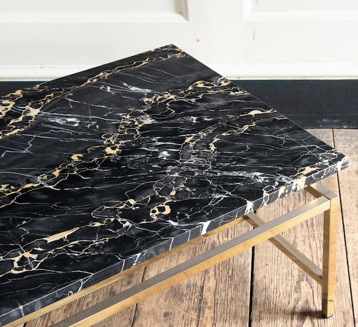 portoro marble table top