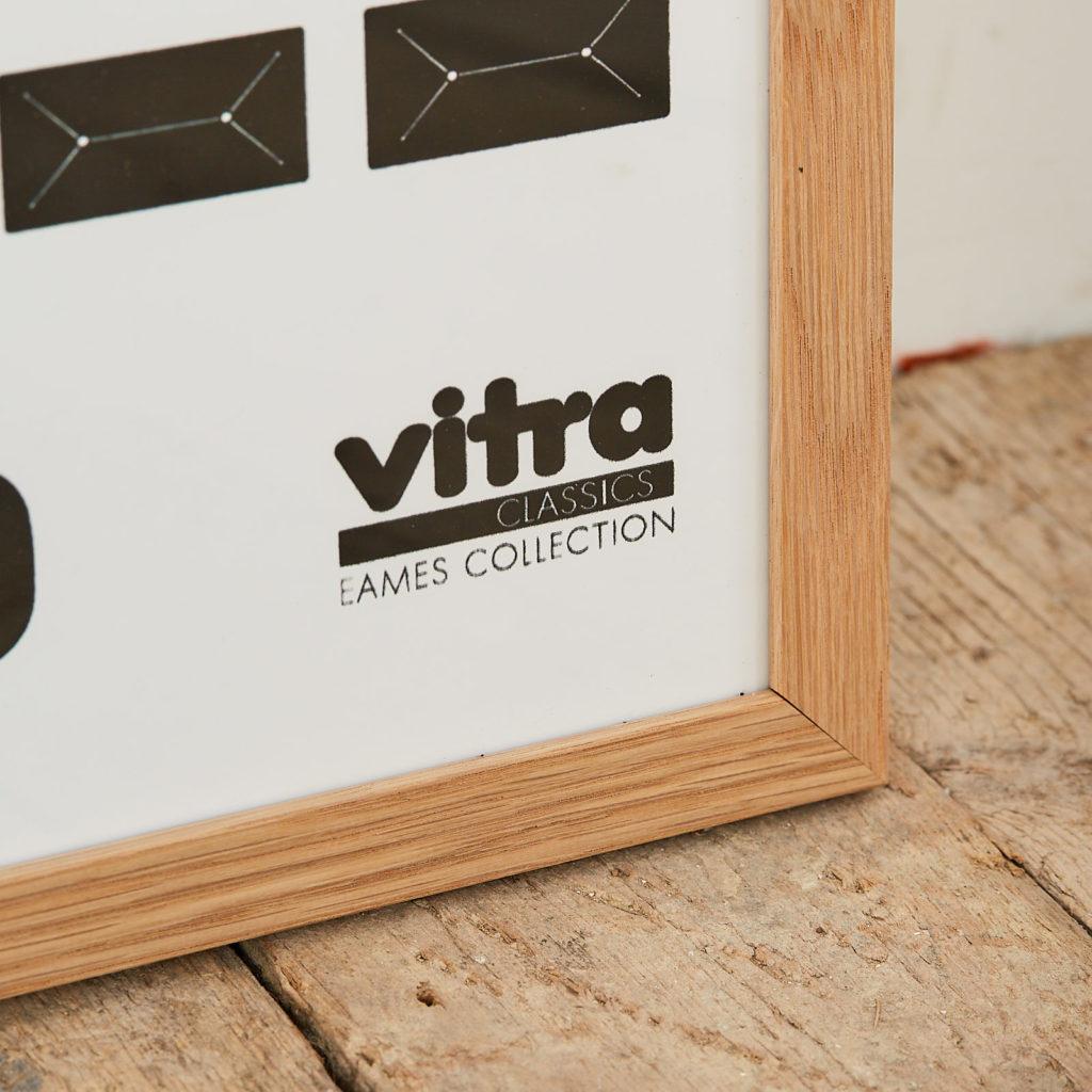 Vitra, Eames collection original print,-126318