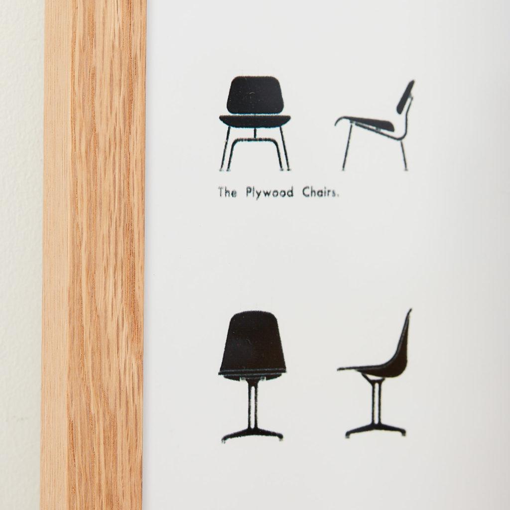 Vitra, Eames collection original print,-126319