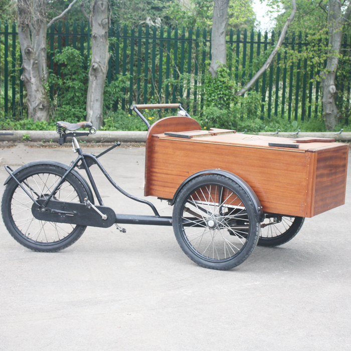 Bakfietsen delivery cycle