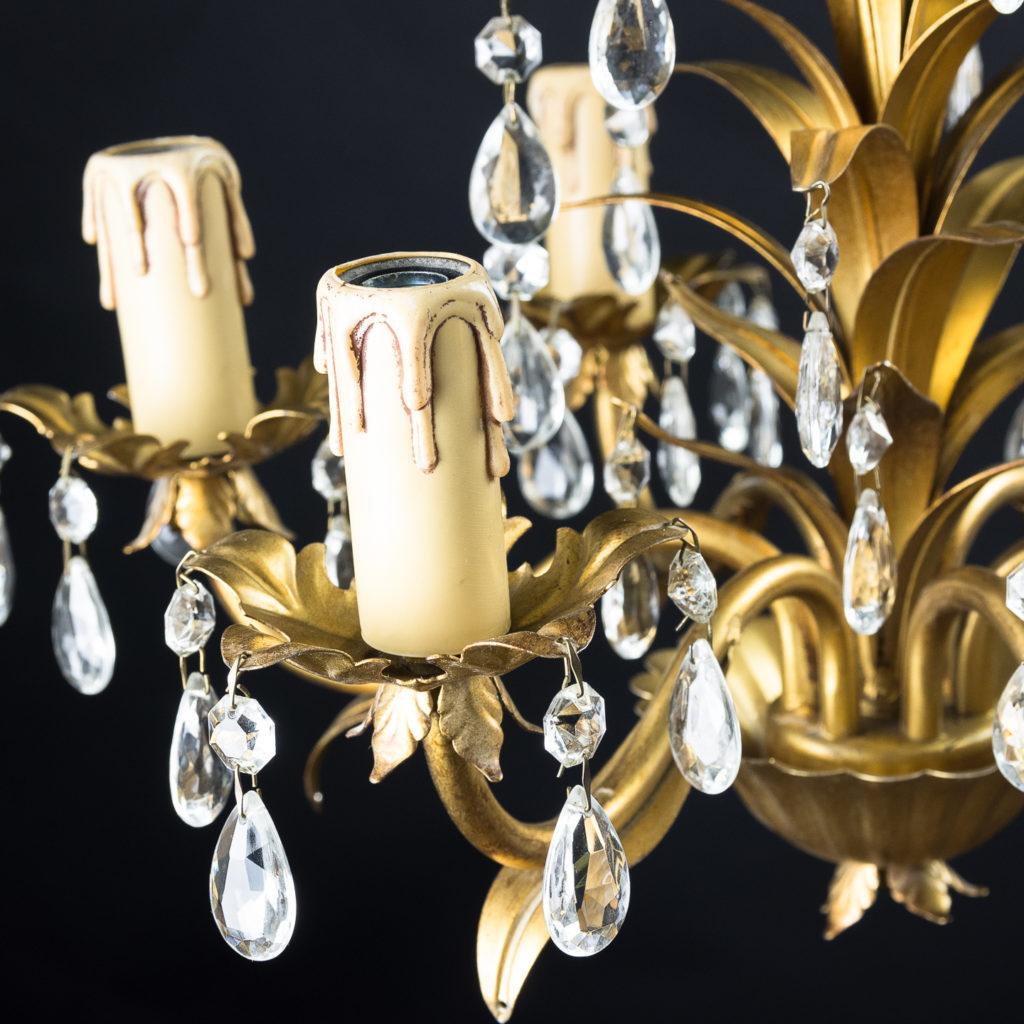 Six branch decorative metal chandelier-126878
