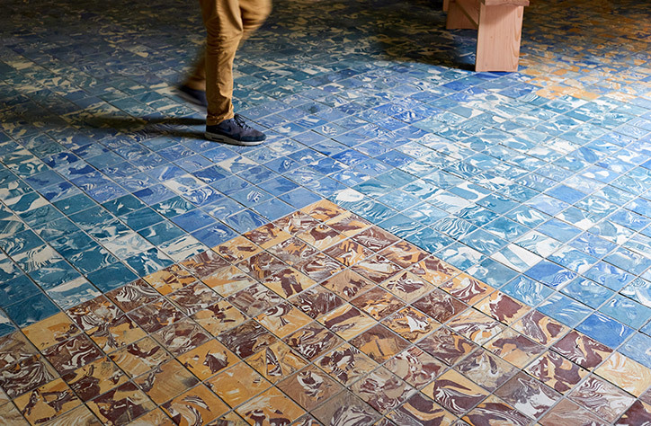 granby workshop assemble architecture tiles laid in venice biennale