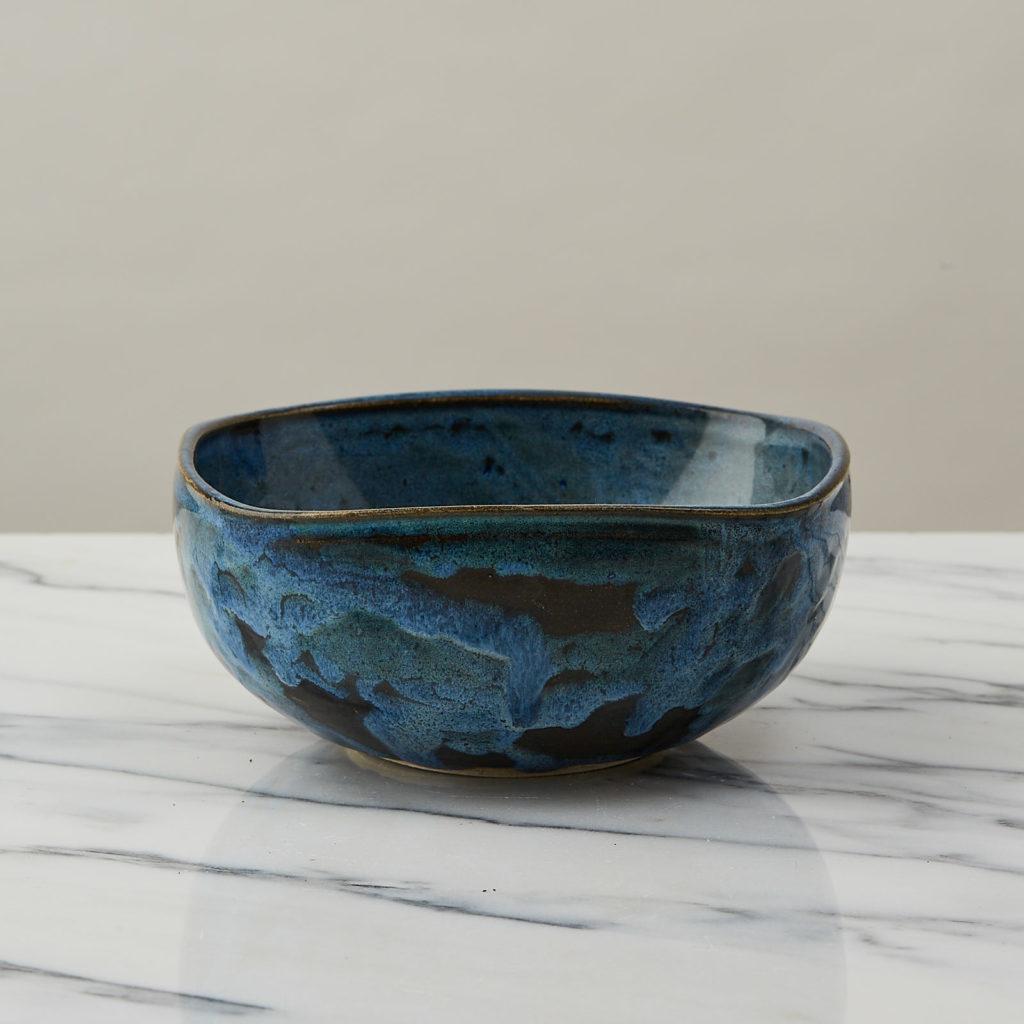 A nesting set of ceramic bowls,-127355