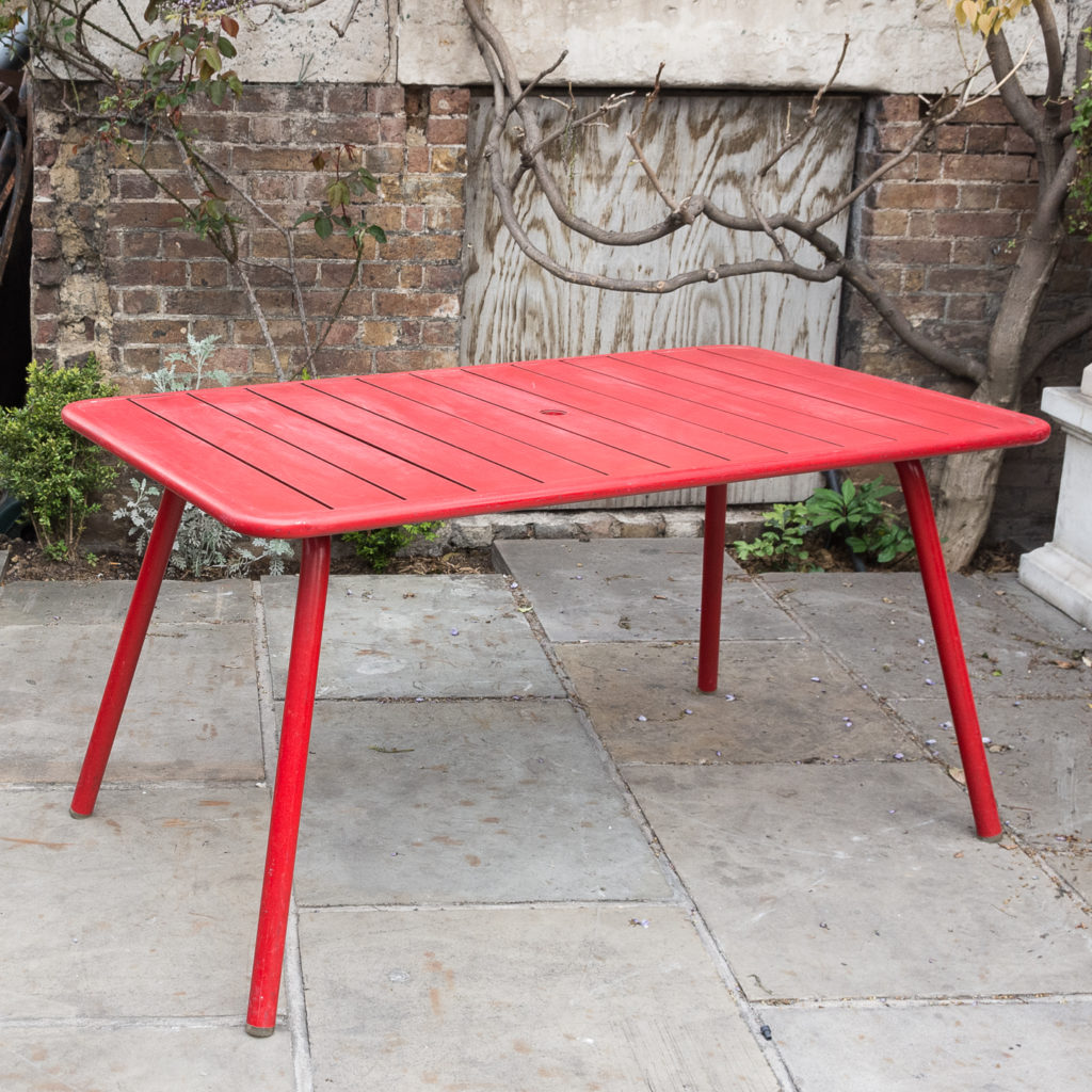 Fermob 'Luxembourg' garden table,