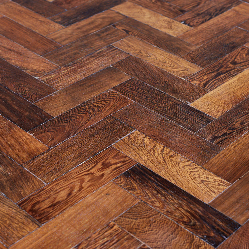 Reclaimed Panga Panga parquet block work surface,-127826