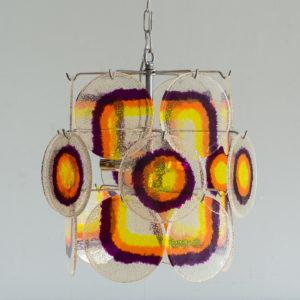 1970s German ceiling light,