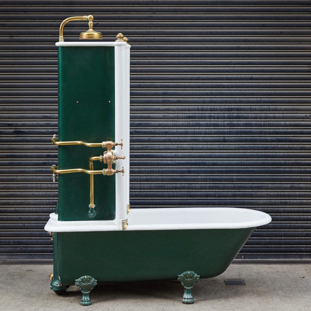 Late Victorian Canopy bath,-128307