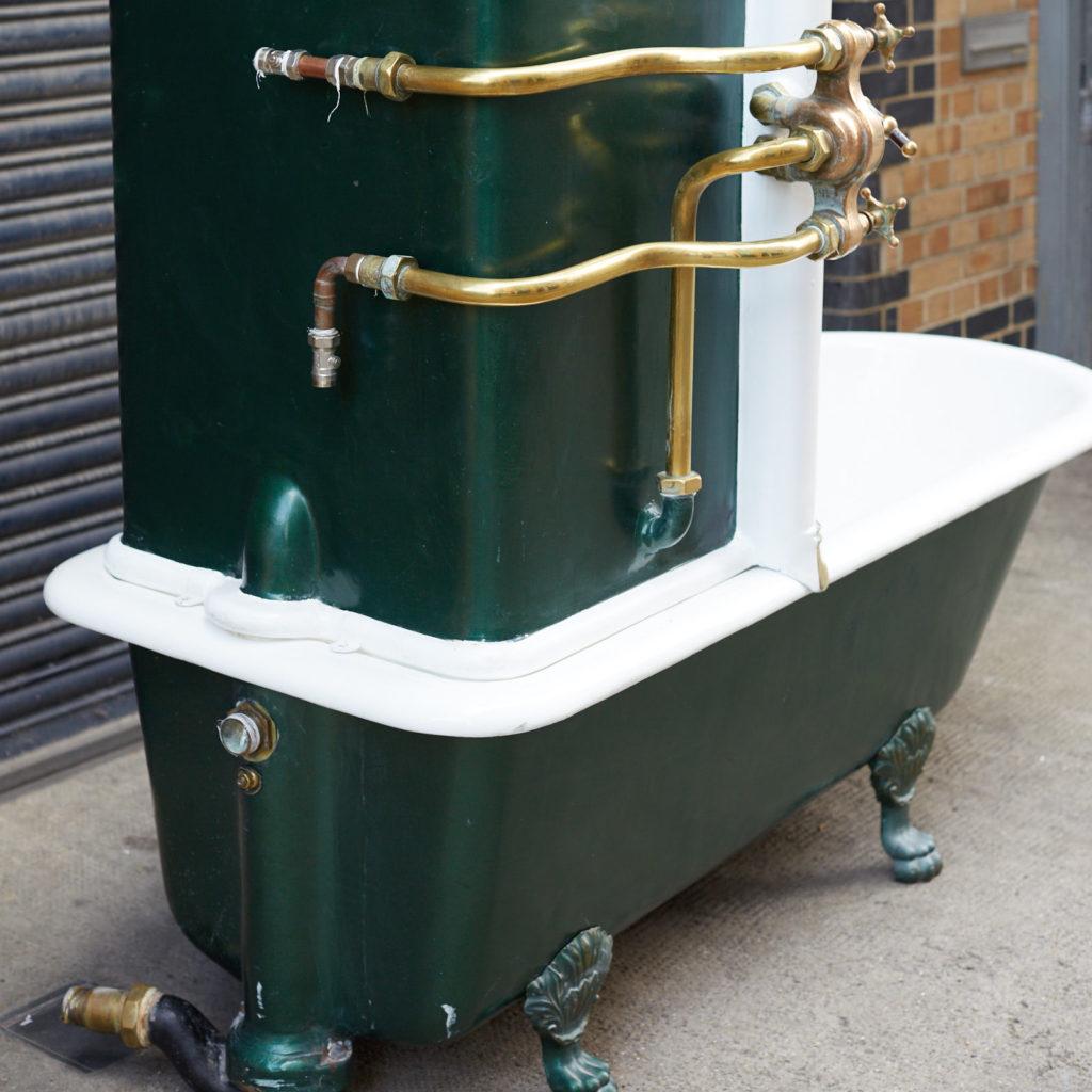 Late Victorian Canopy bath,-128308