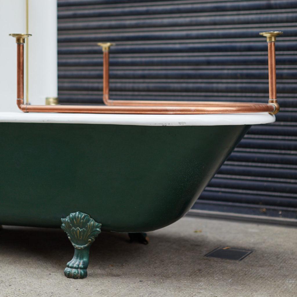 Late Victorian Canopy bath,-128319
