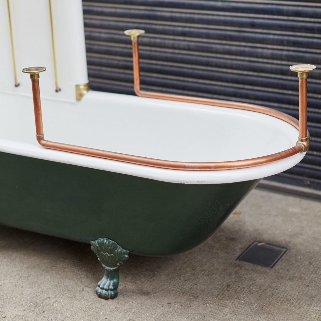 Late Victorian Canopy bath,-128320