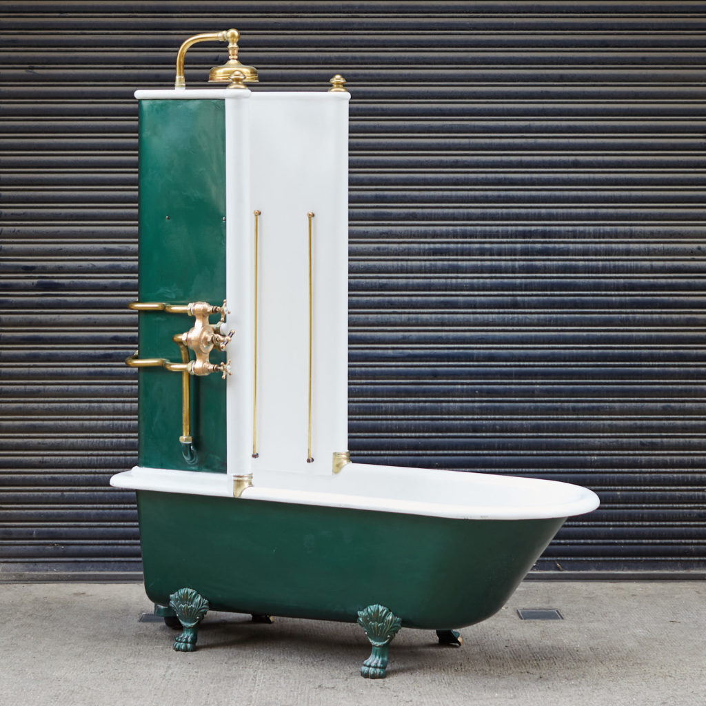 Late Victorian Canopy bath,-0