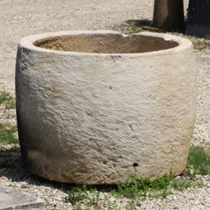 Large stone cistern
