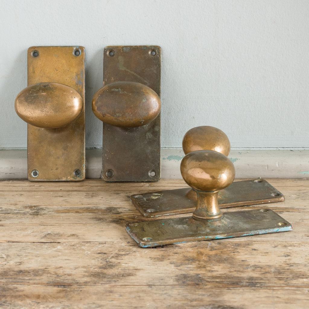 Inverness Catering College brass door handles,