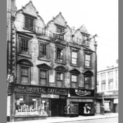 Oriental Cafe, Wheelergate, Nottingham